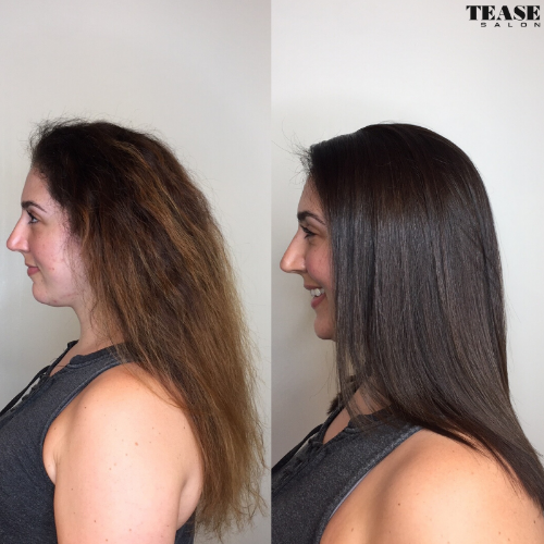 Lasio Keratin Smoothing Treatment by Tease Salon in Saint Paul Minnesota