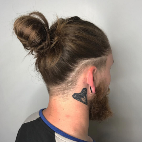 Mens long haircut by Tease Salon in Saint Paul Minnesota