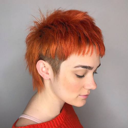Cool, short haircut by Tease Salon in Saint Paul Minnesota