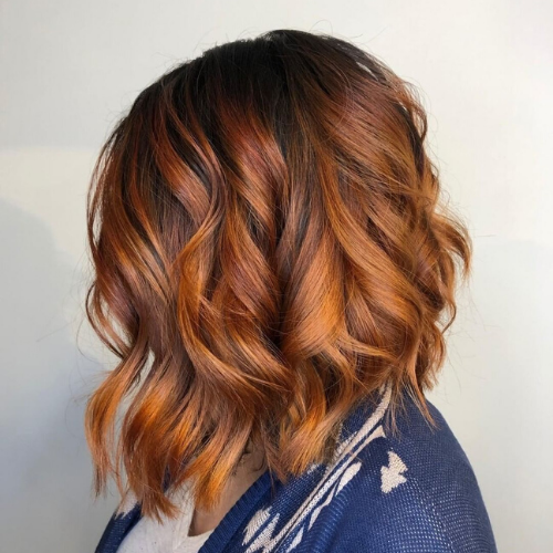 Womens haircut by Tease Salon in Saint Paul Minnesota